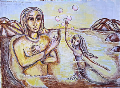 JESUS AND THE MERMAID
